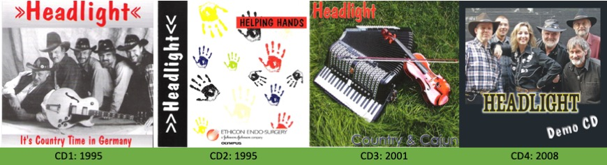 Country Band: Headlight CD Produktionen